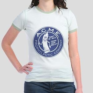 A.C.M.E. (Blue) Jr. Ringer T-Shirt