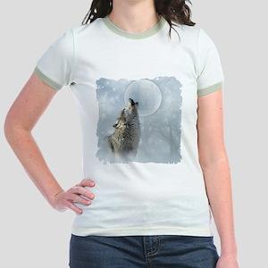 Wolf Blue Moon Jr. Ringer T-Shirt