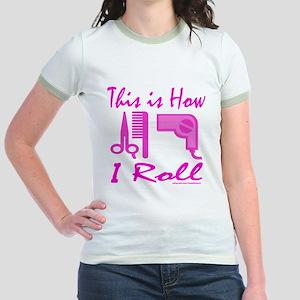 BEAUTICIAN/HAIRSTYLIST Jr. Ringer T-Shirt