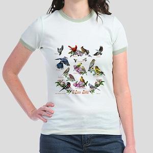 I love Birds Jr. Ringer T-Shirt
