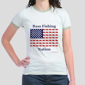 Bass Fishing Nation Jr. Ringer T-Shirt