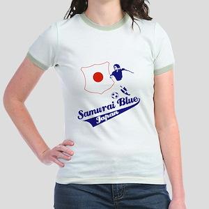 Japanese soccer Jr. Ringer T-Shirt
