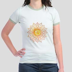 Decorative Sun Jr. Ringer T-Shirt