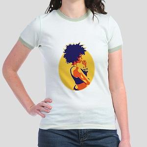 The Thinker Jr. Ringer T-Shirt