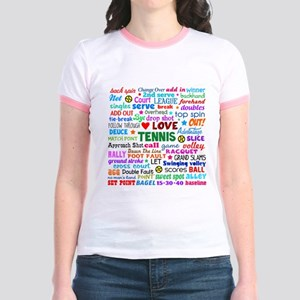 Tennis Terms Jr. Ringer T-Shirt