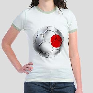 Japanese Football Jr. Ringer T-Shirt