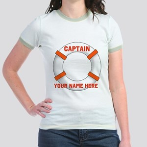 Customizable Life Preserver Jr. Ringer T-Shirt