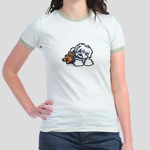 Coton Teddy Jr. Ringer T-Shirt
