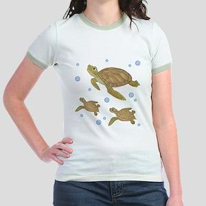 Sea Turtle Jr. Ringer T-Shirt