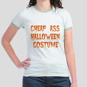 Tiny Cheap Ass Halloween Costume Jr. Ringer T-Shir