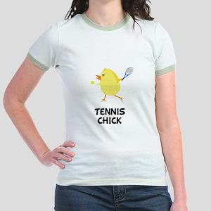 Tennis Chick Jr. Ringer T-Shirt