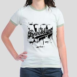 Brooklyn NY Graffiti Spray Jr. Ringer T-Shirt