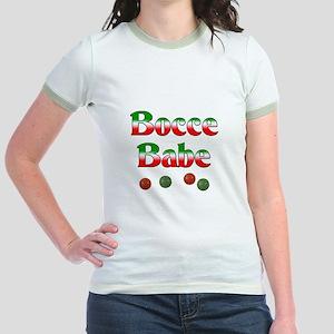 Bocce Babe Jr. Ringer T-Shirt