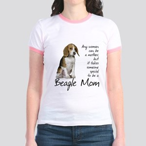 Beagle Mom Jr. Ringer T-Shirt