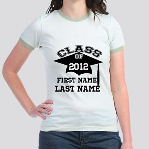 Customizable Senior Jr. Ringer T-Shirt