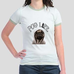 Pug Life Jr. Ringer T-Shirt