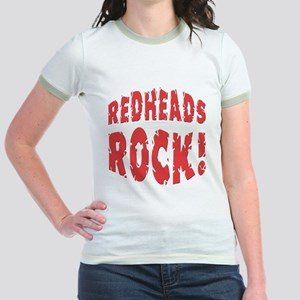 Redheads Rock Jr. Ringer T-Shirt