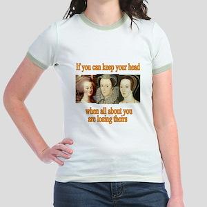 Meanings Change Jr. Ringer T-Shirt