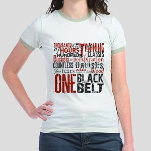 ONE BLACK BELT Jr. Ringer T-Shirt