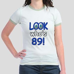 Look who's 89 Jr. Ringer T-Shirt