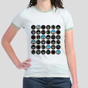 Flight Instruments Jr. Ringer T-Shirt
