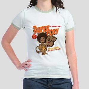 Ms. Super Foxy Jr. Ringer T-Shirt