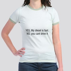 YES My diesel is fast NO you cant drive it Jr. Rin