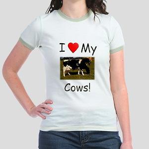 Love My Cows Jr. Ringer T-Shirt