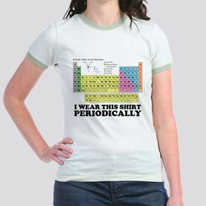 I wear this shirt periodically periodic table Jr.