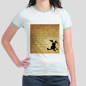 Velveteen Rabbit Print Jr. Ringer T-Shirt