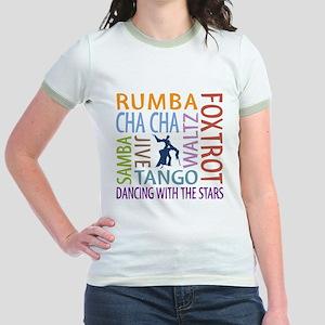 Ballroom Dancing DTWS Jr. Ringer T-Shirt