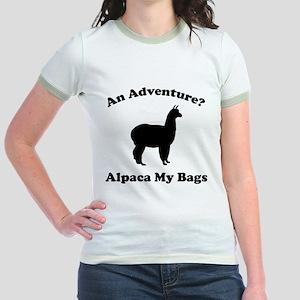 An Adventure? Alpaca My Bags Jr. Ringer T-Shirt