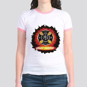 Personalized Fire and Rescue T-Shirt