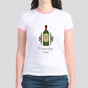 Customizable Birthday Jr. Ringer T-Shirt