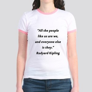 Kipling - People Like Us Jr. Ringer T-Shirt