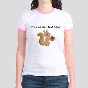 Custom Cartoon Squirrel T-Shirt