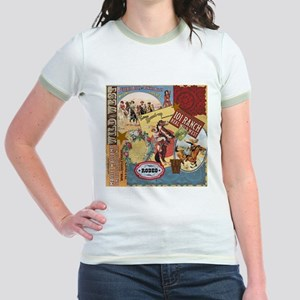 Vintage Western cowgirl collage T-Shirt