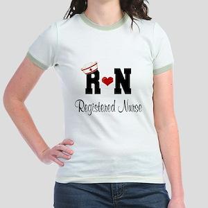 Registered Nurse (RN) Jr. Ringer T-Shirt