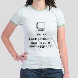 User Upgrade Jr. Ringer T-Shirt