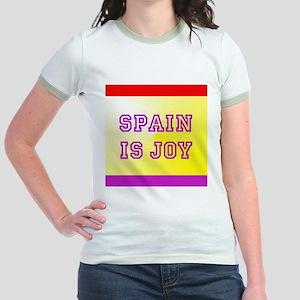 Spain Is Joy Jr. Ringer T-Shirt