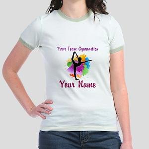 Customizable Gymnastics Team T-Shirt