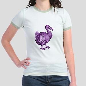 Purple Disco Dodo Jr. Ringer T-Shirt