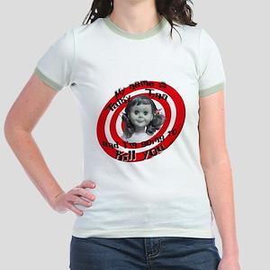 Talky Tina Jr. Ringer T-Shirt