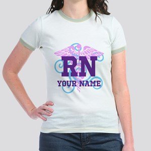 RN swirl with personalized name T-Shirt