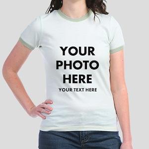 Customize Photo And Text T-Shirt