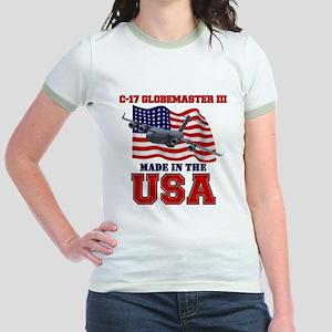 C-17 Globemaster III Jr. Ringer T-Shirt