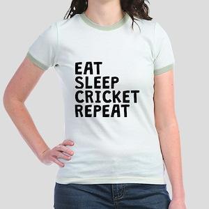 Eat Sleep Cricket Repeat T-Shirt
