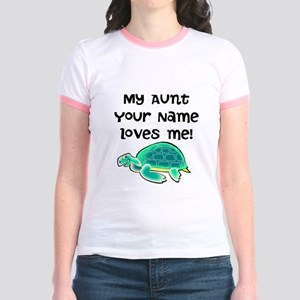 My Aunt Loves Me Turtle T-Shirt