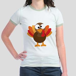 Funny Turkey Jr. Ringer T-Shirt