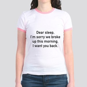 Dear Sleep Jr. Ringer T-Shirt